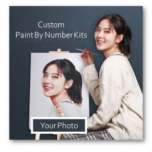 Convert Any Photo to Paint with the Specialized Paint by Number Kits